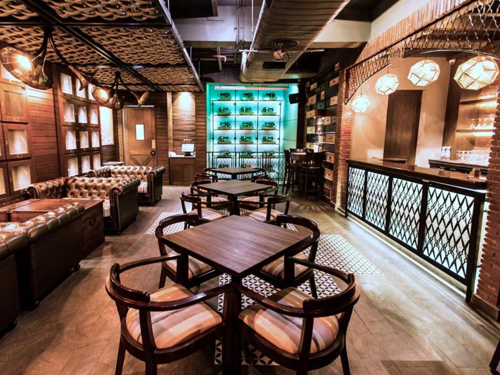 Coworking at The Darzi Bar Connaught Place - myHQ Workspaces / Asia / India / Delhi