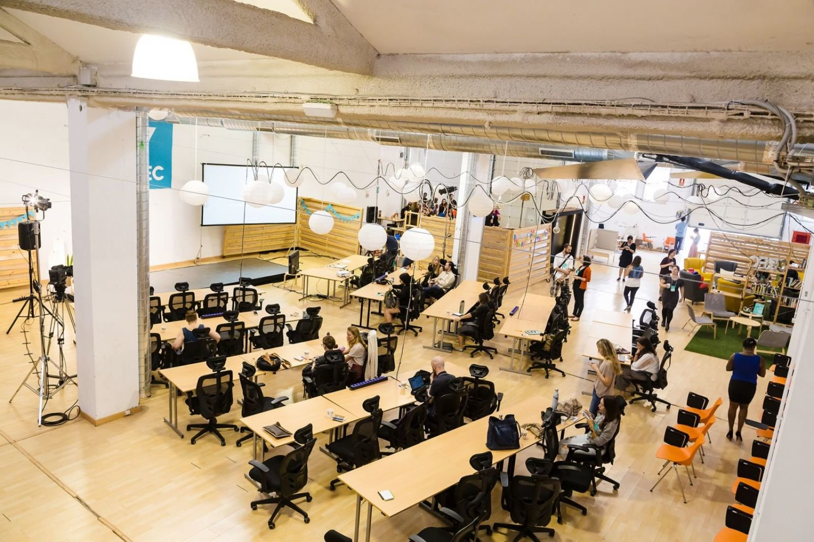CREC Poble Sec Coworking Barcelona / Europe / Spain / Barcelona