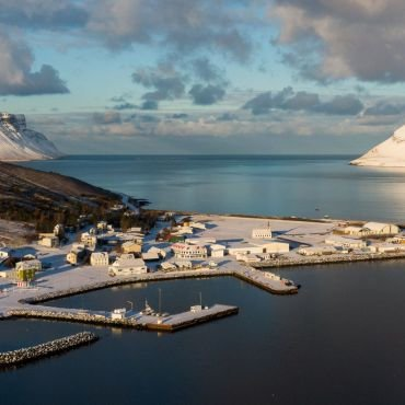 5/9 Our town, Þingeyri, in the Westfjords of Iceland.